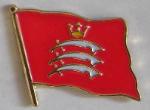 Middlesex County Flag Enamel Pin Badge